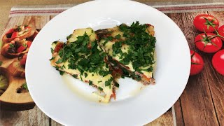Вот Как Нужно готовить Баклажаны! Вкусный Ужин из баклажанов для всей семьи. Простой рецепт.