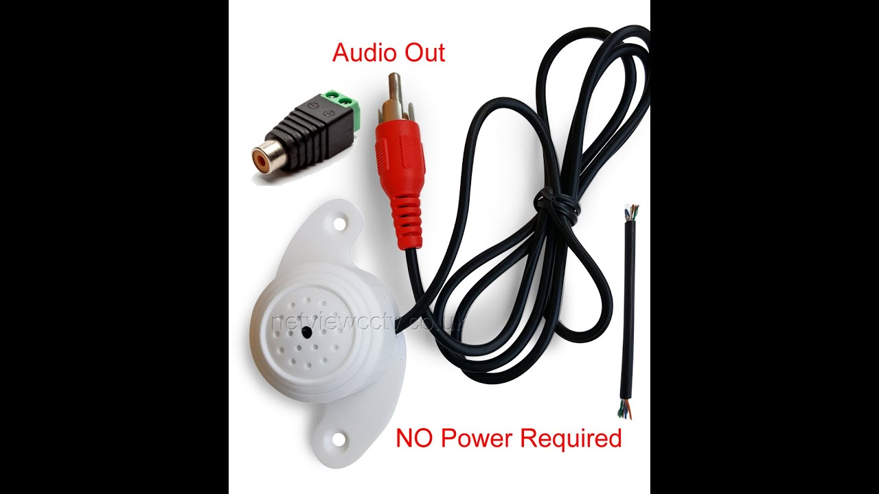 How To Configure A Hikvision Ip Camera Enable Audio When Mic Is Power Over Ethernet Wiring Diagram Poe Connected Youtube
