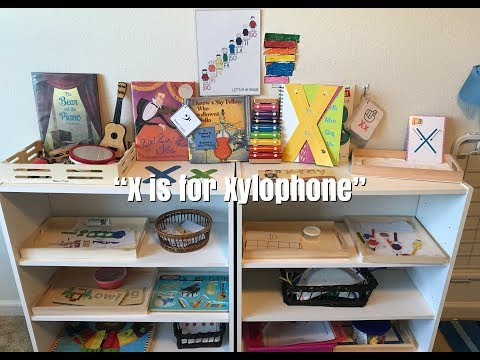 Home Preschool Activity Trays l Shelf Work l Musical Instruments Unit