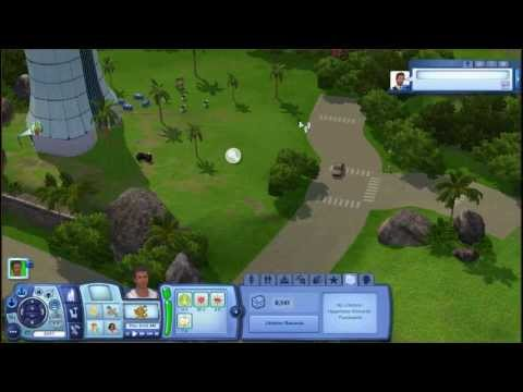 Let's Play: The Sims 3: Island Paradise Part 4: A two star resort and Marcus's first kiss