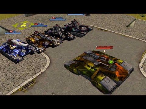 Tanki Online - 1 Vs 4 Juggernaut Vs Rico - (feat. Ghost Animator TO) танки Онлайн