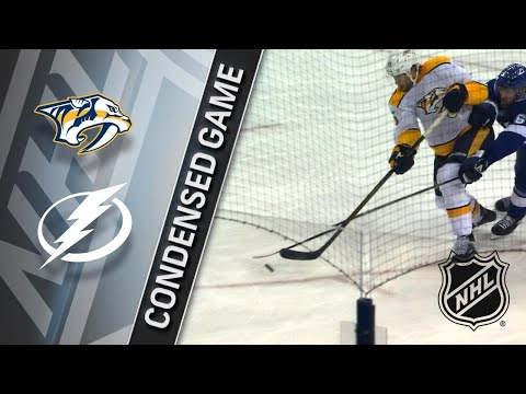 04/01/18 Condensed Game: Predators @ Lightning