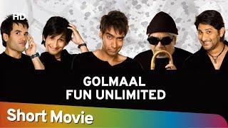 Golmaal: Fun Unlimited (HD) Hindi Full Movie in 15 mins | Ajay Devgn | Arshad Warsi | Comedy Movie
