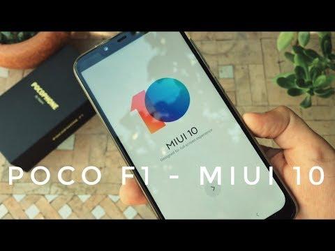 Miui 10 en PocoPhone F1 Oficial - Novedades y Como Instalar sin PC