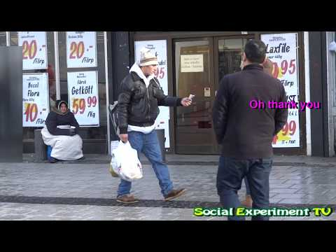 Dropping Money in Public (Social Experiment in Stockholm, Sweden)