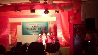 Zayan and Niha dance - KRIA sangamam 2013