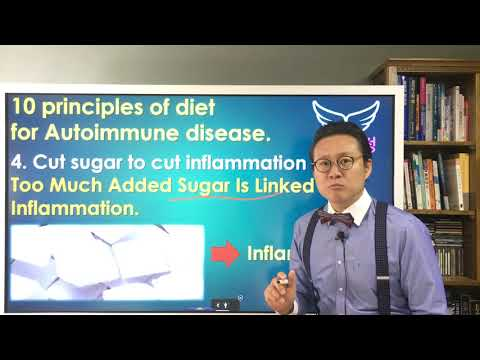(Kor, Eng Sub)10 principles of diet for Autoimmune disease [4] Cut sugar to cut inflammation thumbnail