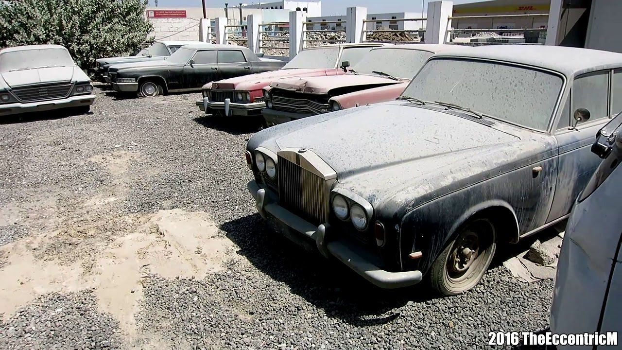 Sharjah Used Car Dealer Urban Exploration - YouTube