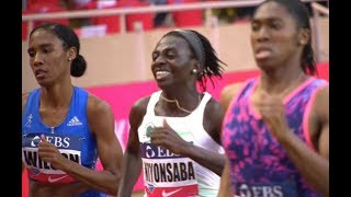 Ajee Wilson 800m American Record at Monaco Diamond League (1:55.61!)