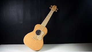 How to Make a Guiter From Cardboard at Home