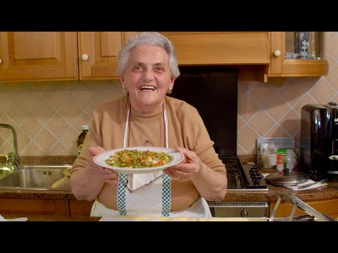 Pasta Grannies Discovers Nonna Rosa's 'straw And Hay' Tagliatelle!