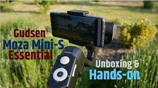 Gudsen Moza Mini-S Essential: Faltbares 3-Achsen Gimbal | Hands-on | Deutsch | Unboxing / Unpacking