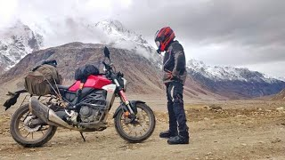 Honda CB 300R done this😍🚵 Off road, water crossing during Spiti valley ride.