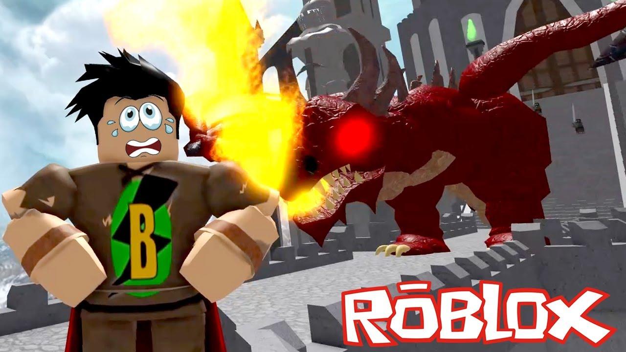 OHA!! KORKUNÇ EJDERHA 🐲 Roblox Escape The Castle Of Robloxia Obby!