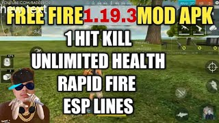 Unlimited Health with funny free fire 1.19.3 mod version (No root)
