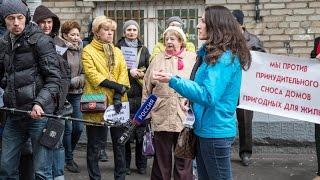 Хамовники против закона «О Реновации». Как снимал репортаж телеканал Россия 1.