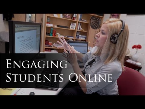 The Extraordinary Teaching Project: Engaging Students Online
