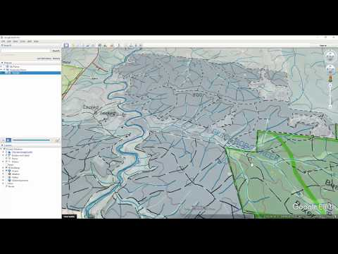 How to use Google Earth to find hunting spots in NSW State Forests