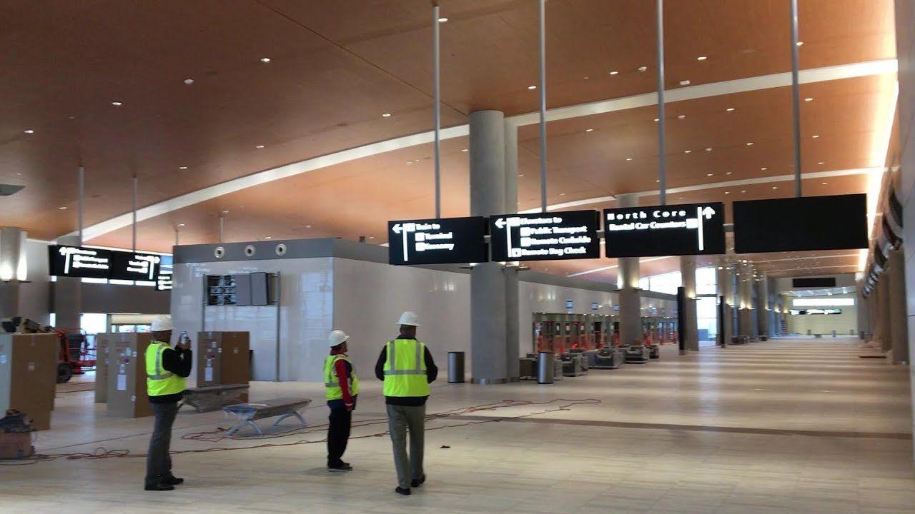 Update Sneak Peek New Tampa Airport Rent A Car Center
