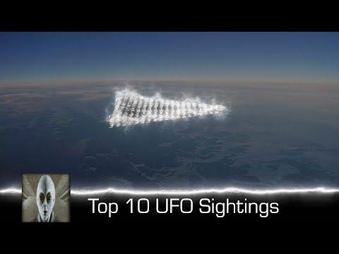 Top 10 UFO Sightings May 2018