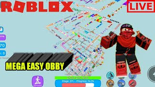 OBBY EASY PUN AKU TAKLEH NAK MENANG ! | LIVE ROBLOX |