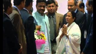 CM Mamata Banerjee came Dhaka 19 February 2015