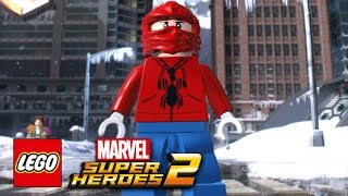 LEGO Marvel Super Heroes 2 - How To Make The Human Spider