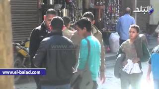 بالفيديو.. القبض على 3 من مندوبى المرشحين بالجمالية لتوزيع دعاية أمام اللجان
