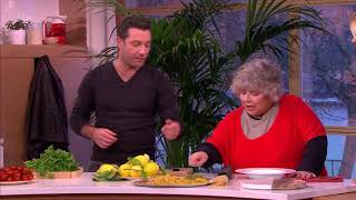 Gino Gives Miriam Margolyes a Masterclass in Pasta! | This Morning