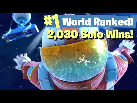 #1 World Ranked - 2,030 Solo Wins - Sponsor Goal 906/1,000