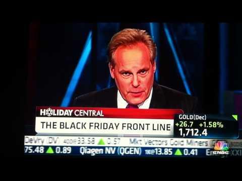 """CNBC POWER LUNCH: """"Black Friday"""" Greg Udchitz of Westfield Garden State Plaza, Marketing Director"""
