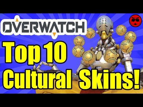 Top 10 Overwatch Cultural Costumes! - Game Exchange