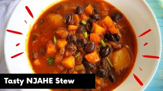 NJAHE  BLACK BEANS  How to prepare Njahe Black Beans from Scratch  Kenyan Style Black Beans Stew