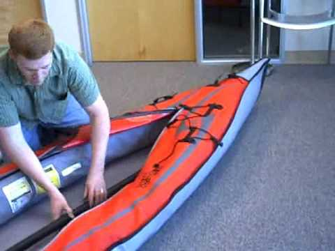 Advanced Elements Advancedframe Expedition Inflatable Kayak Review