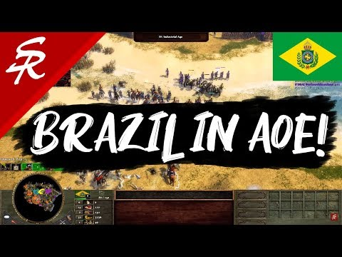 Brazil! Wars Of Liberty 3v3! Age Of Empires III