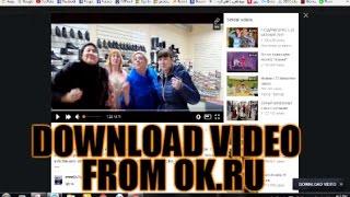 Download Video From Odnoklassniki.ru (ok.ru)