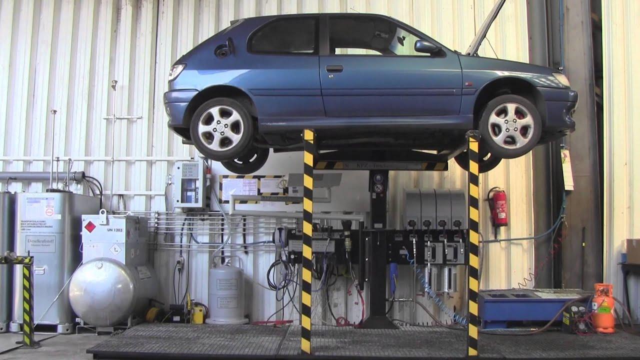 KFZ Trockenlegung Bei Autosammler ch, Autoverwertung, Autoentsorgung ...