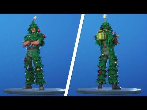 Lt Evergreen Christmas Skin Present Location - Fortnite (Fortnite Free Christmas Skin)