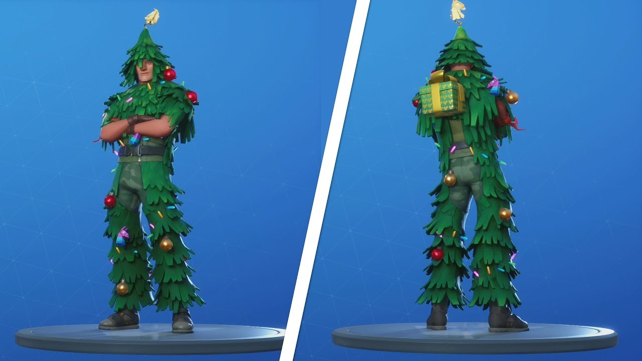 Lt Evergreen Christmas Skin Present Location - Fortnite (Fortnite Free Christmas Skin) - YouTube
