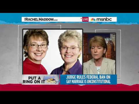 Rachel Maddow - Defense of Marriage Act Unconstitutional - DOMA