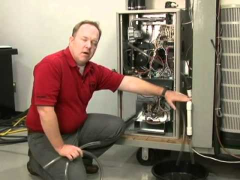 Furnace Troubleshooting Condensate Piping Youtube