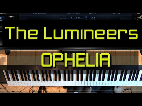 Piano Tutorial - How to Play Ophelia by The Lumineers (Sheet Music Available)