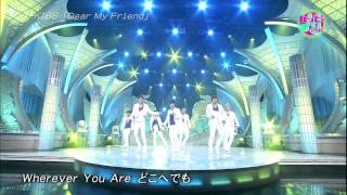[Full HD] 120810 Happy Music - U-KISS - Dear My Friend