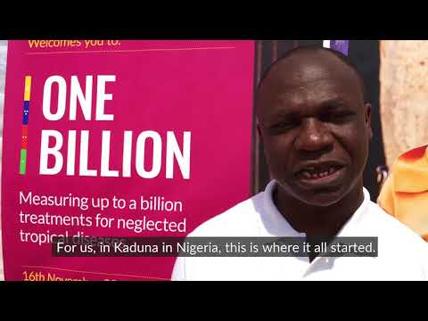 One billionth treatment for neglected tropical diseases in Nigeria