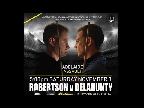 M$M 02 Adelaide Assault 8 Ball Money Match | James Delahunty v Marc Robertson $28,000