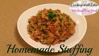 Thanksgiving Stuffing Recipe - Classic Stuffing Recipe - Bread Stuffing Recipe