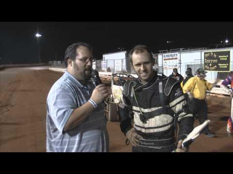 Williams Grove Speedway ARDC Midget Victory Lane 9-14-12