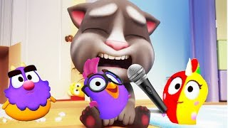 My Talking Tom & Pets Sing and Dance kids Vegetables song | Educational cartoon