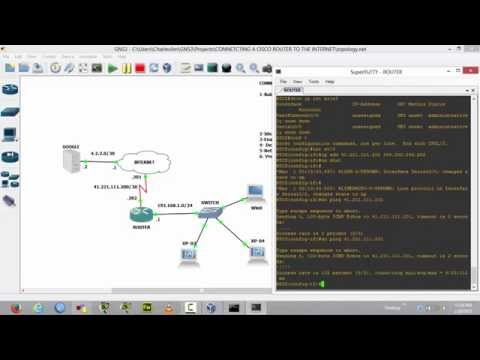 How to Connect A Cisco Router to the Internet   By Charles Jim Amon