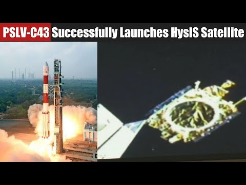 ISRO's PSLV-C43 Successfully Launches HysIS and 30 Other  Satellites into Orbit